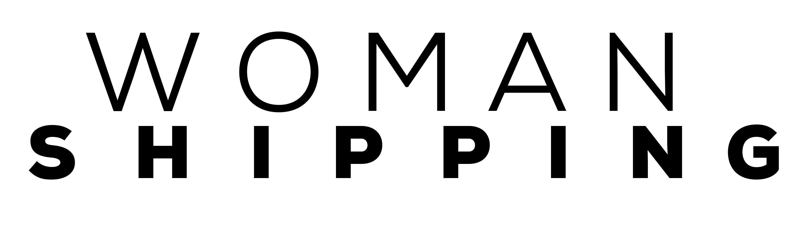 logotipo woman shipping